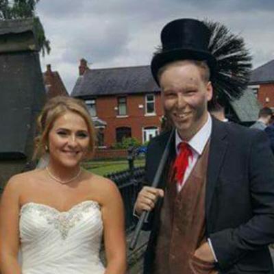 Lancashire chimney sweep